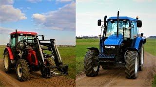 Rolnik Szuka Traktora - Rolnictwo Precyzyjne / New Holland TS90, Zetor 6441 (Prezentacja ciągników)