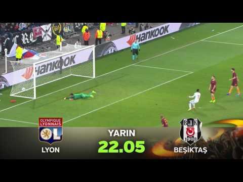 """""""Lyon-Beşiktaş"""" UEFA Avrupa Ligi Çeyrek Final Karşılaşması Tanıtımı"""