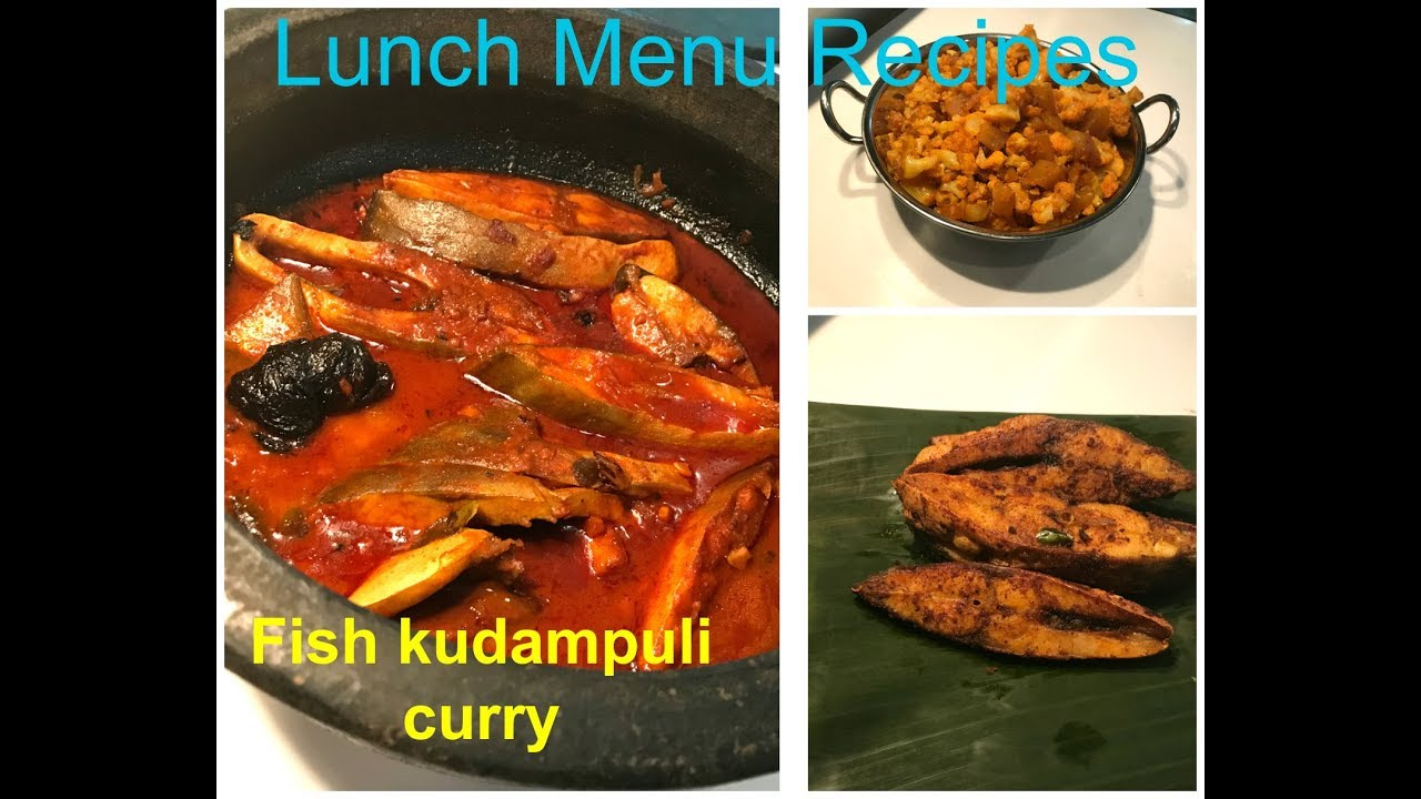 Lunch Menu Recipes/ Three Recipes/easy to follow for beginners and  bachelors /Kerala Special NO: 2