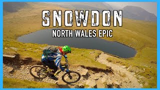 Go BIG or go home! Mountain Biking Snowdon. North Wales Epic day 2