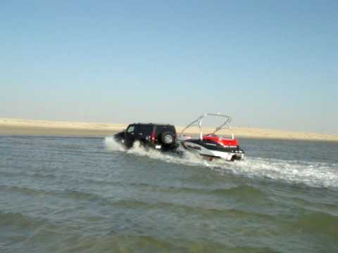 Hummer 3 H3 Black Qatar Video