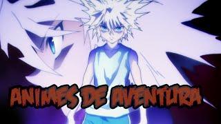 Top 10 mejores animes de aventura