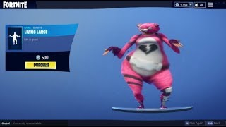 FORTNITE LIVING LARGE BASS BOOSTED