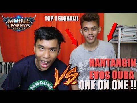 GUE NANTANGIN TOP 1 GLOBAL ONE ON ONE , SIAPA MENANG ? - Mobile Legends Indonesia #3