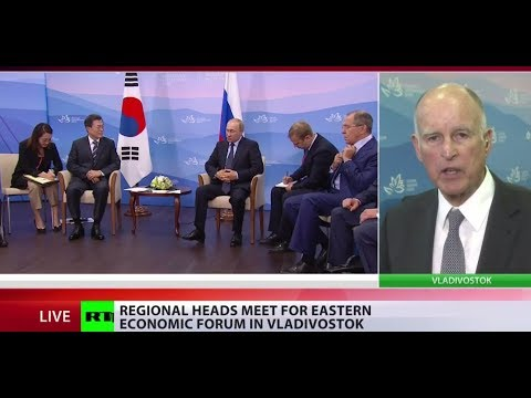 'Talks are the only way out of Korea crisis' - California governor to RT