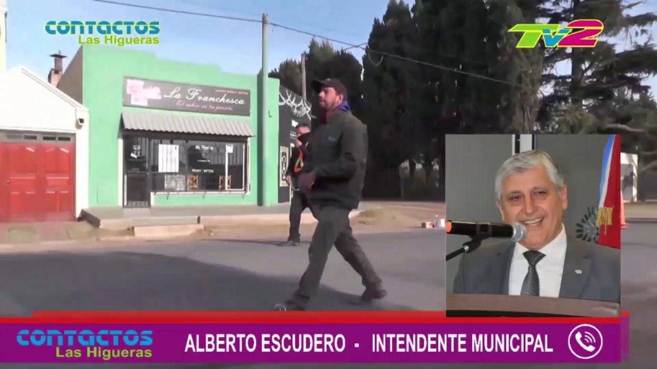 Entrevista a Alberto Escudero anuncio construcción del Jardín de Infantes (junio 2020)