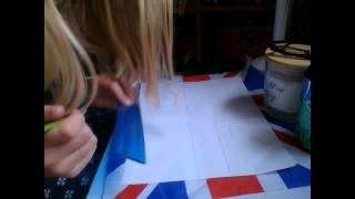 how to draw unionj flag