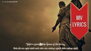 Glory To The Brave | Hammerfall | Lyrics [Kara + Vietsub HD]
