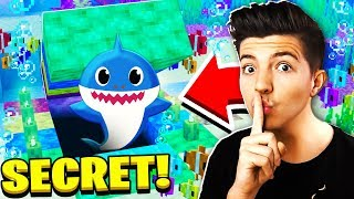 FOUND SECRET PrestonPlayz BABY SHARK in MINECRAFT!