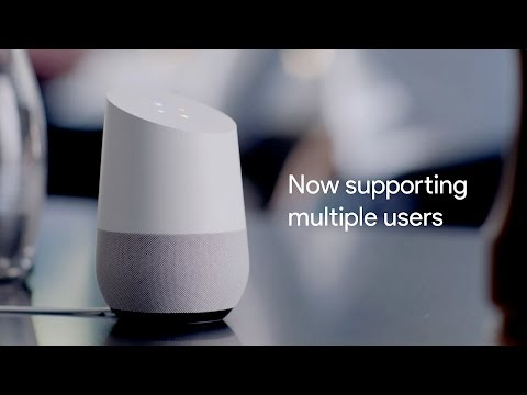 Carpool | Google Home now supports multiple users