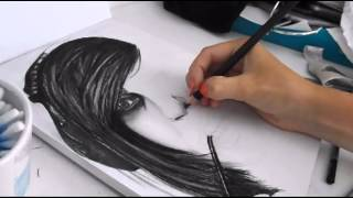 Vic Fuentes Speed Drawing | Sophie Foster