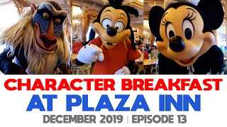 EP13   Character Breakfast at Plaza Inn   Eeyore and Friends   Disneyland Park   California