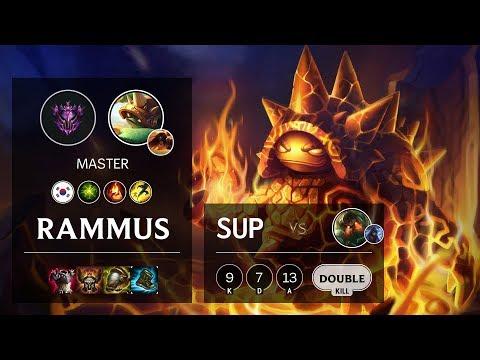 Rammus Support vs Nautilus - KR Master Patch 10.10
