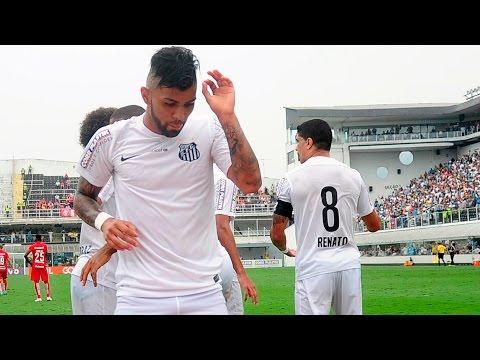 Gabriel comemora gol com a dancinha do Desimpedidos