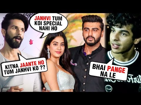 ANGRY Shahid Kapoor HARSH Comments On Arjun Kapoor And Janhvi Kapoor