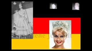 Marlene Schmidt of Germany, Miss Universe 1961, National Costume