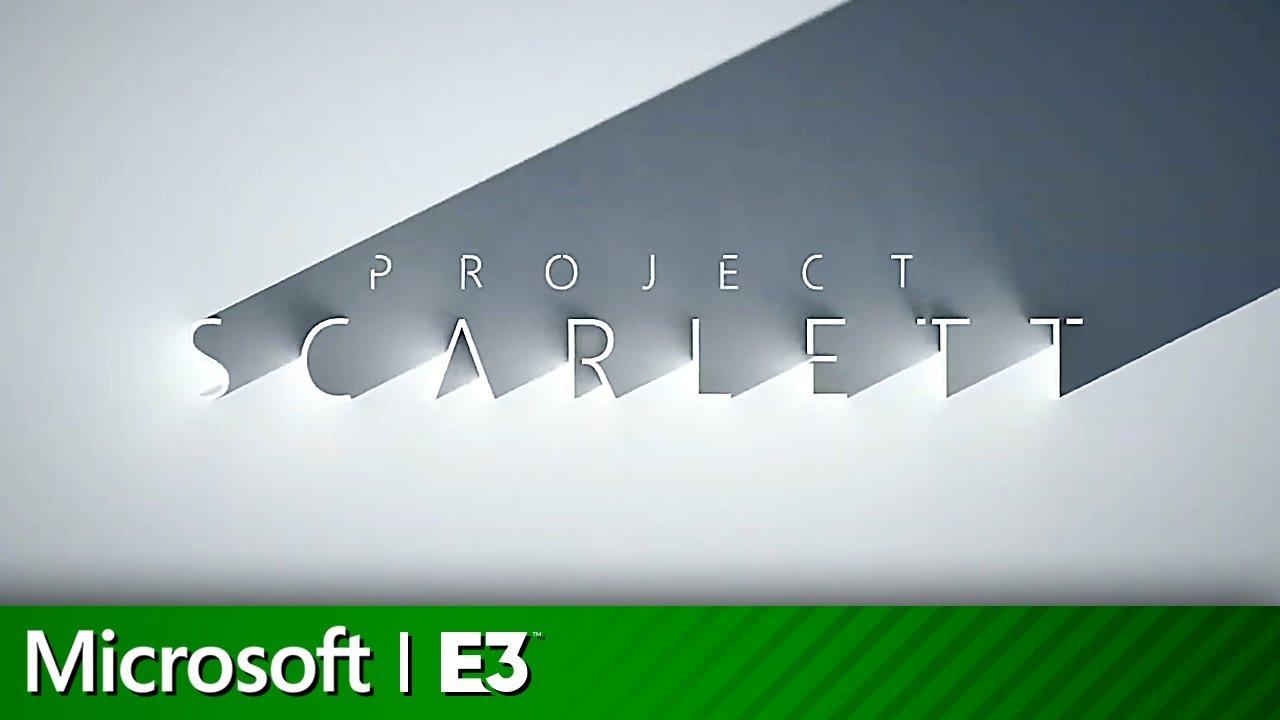 Xbox Project Scarlett Console Announcement  | Microsoft Xbox E3 2019 image
