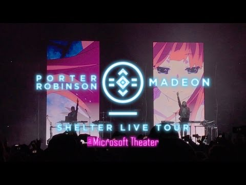 【FULL�.11.26 porter robinson & madeon SHELTER LIVE TOUR @ Microsoft Theater