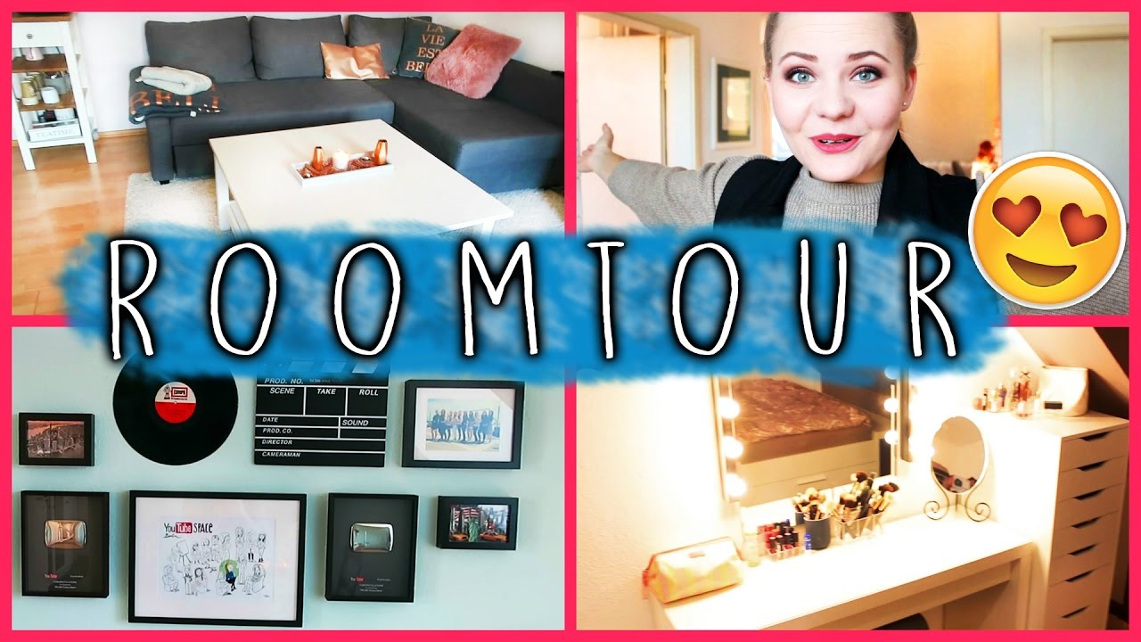 roomtour meine erste wohnung youtube. Black Bedroom Furniture Sets. Home Design Ideas
