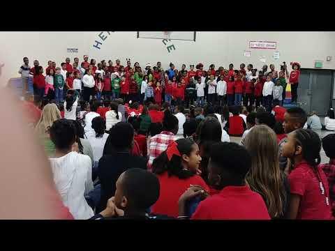 Partee School Georgia Snellville winter Wonderland concert