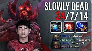 NEW CARRY - Shadow Demon Mid Amazing Gameplay by InyourdreaM 7.07   Dota 2