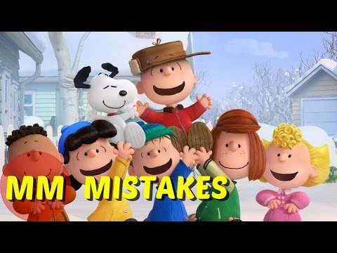 10 Peanuts Movie Mistakes You Didn't See | The Peanuts Movie Mistakes