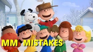 10 Peanuts Movie MISTAKES You Didn't See | The Peanuts Movie Goofs
