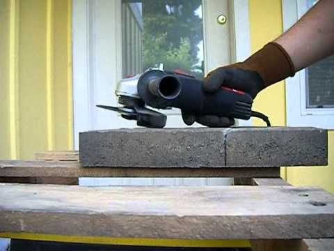 High Quality How To Cut Pavers For A Brand New Summer Patio!