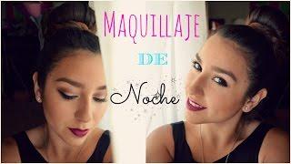 MAQUILLAJE DE NOCHE / FIESTA !! ☾ | Priscila ♡ Thumbnail