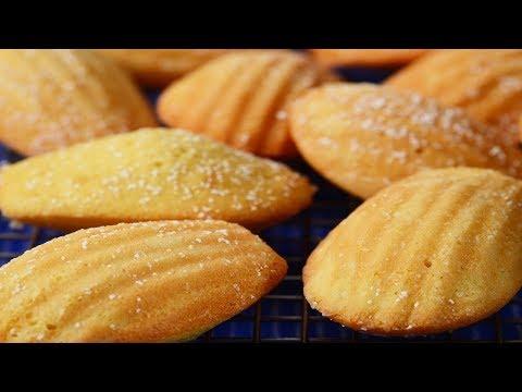 Madeleines Recipe Demonstration - Joyofbaking.com - YouTube