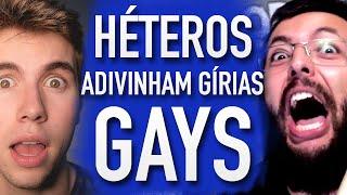 HÉTEROS ADIVINHAM GÍRIAS GAYS (feat. Cauê Moura, Carlos Santana) - Põe na Roda