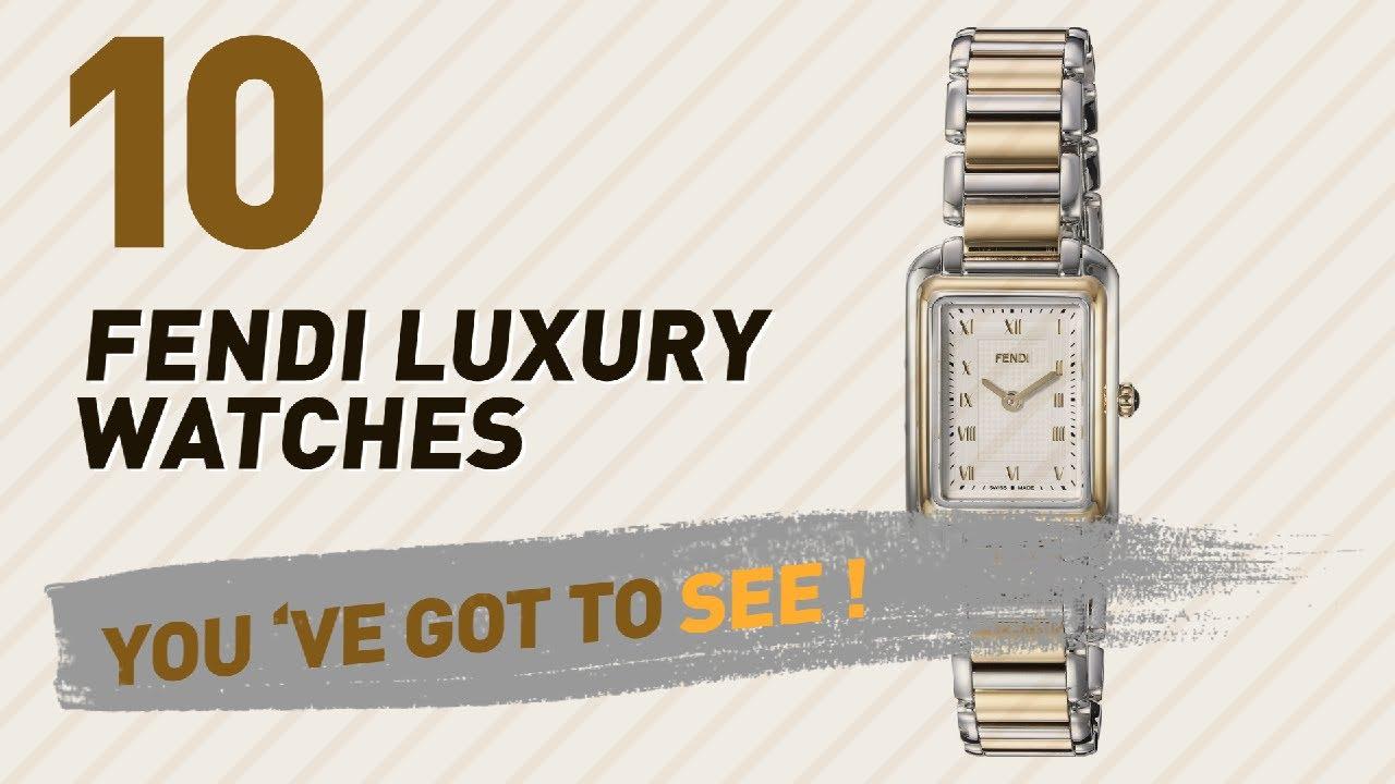 c1fec893d28 Fendi Luxury Watches For Women    New   Popular 2017 - YouTube