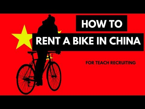 How to Rent a Bike in China | Mobike | ofo
