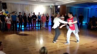 Baltic Swing 2017 Jack & Jill Advanced finals Marcin Skalski and Tamara Schittli
