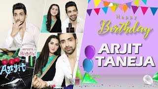 Arjit Taneja Aka Azaan From Bahu Begum Celebrates His Birthday With Diana Khan| Exclusive
