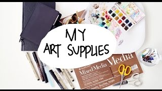 My Art Supplies | Char Villena