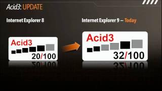 Internet Explorer 9 Video (1/2)