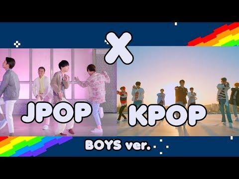 KPOP VS JPOP Boys ver. | What's your favorite?