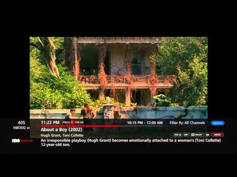 Verizon FiOS TV channel surfing