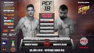 PCF 18   Marek Karas vs Marcin Zajac