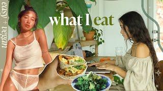 What I Eat Wнen I Have No Time | simple + vegan