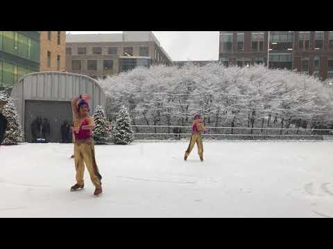 Full Ice-skating Performance Show at Kendall Square 12/09/2017