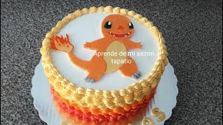 Pastel Decoración Pokemon, En Vivo