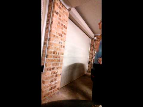 Garage door opens on its own