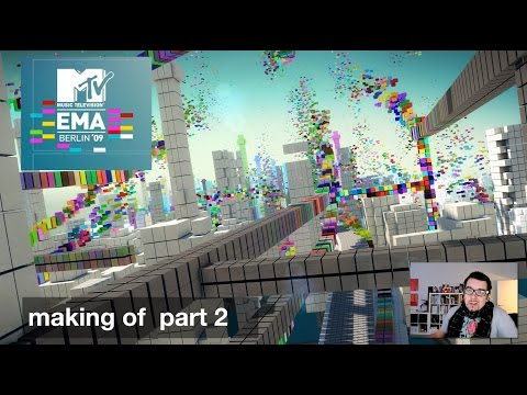 "MTV EMA 09 ""making of"" part II (german)"