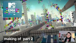 "MTV EMA 09 ""making of"" part II (german)"