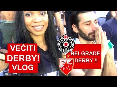 American Girl in Serbia E2: Belgrade Derby (Večiti Derbi) Vlog !!