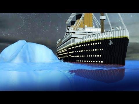 Titanic Movie - Hitting the Iceberg! (Minecraft Roleplay) #2