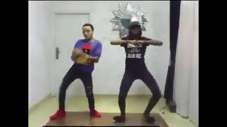 Video: Watch As Bobrisky Beat Beverly Osu In McGalaxy's Shupe Dance Challenge.