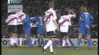 River 2 Boca 1 (Relato Mariano Closs)  Copa Libertadores 2004 (resumen Completo )